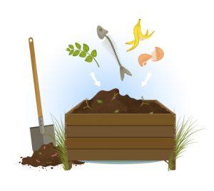 Bac de compost