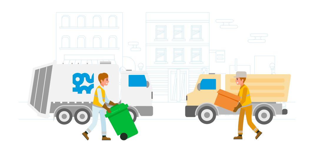 Services de collecte et traitement des déchets